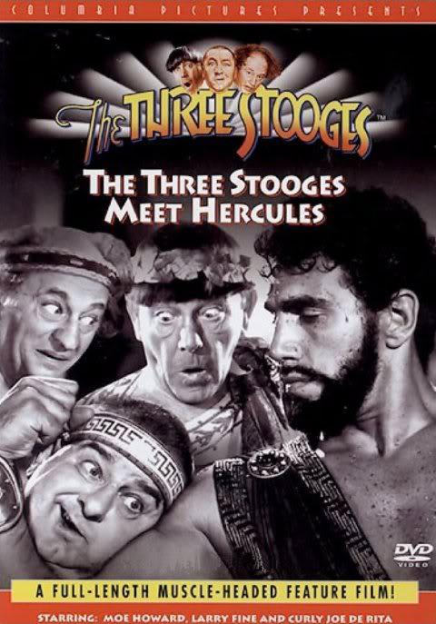 Трое комиков встречают Геркулеса - The Three Stooges Meet Hercules