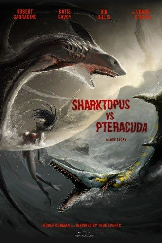 Акулосьминог против птеракуды - Sharktopus vs. Pteracuda