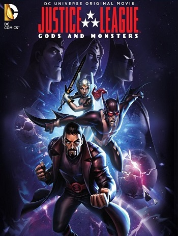 ���� ��������������: ���� � ������� - Justice League- Gods and Monsters