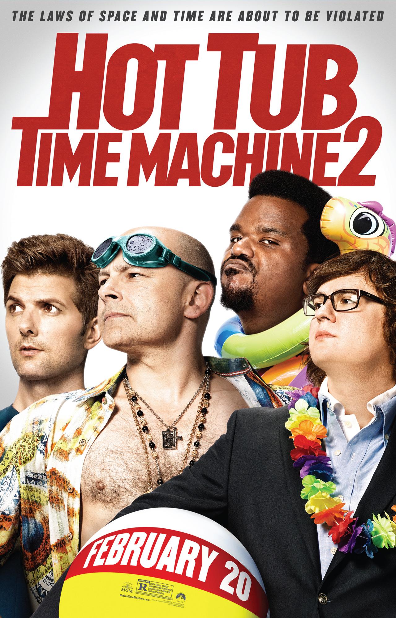 Машина Времени в Джакузи 2: Дополнительные материалы - Hot Tub Time Machine 2- Bonuces