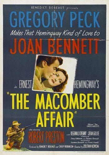 Дело Макомбера - The Macomber Affair