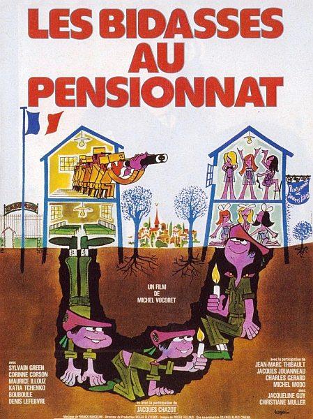 Подземный вход в женский пансион - Les bidasses au pensionnat