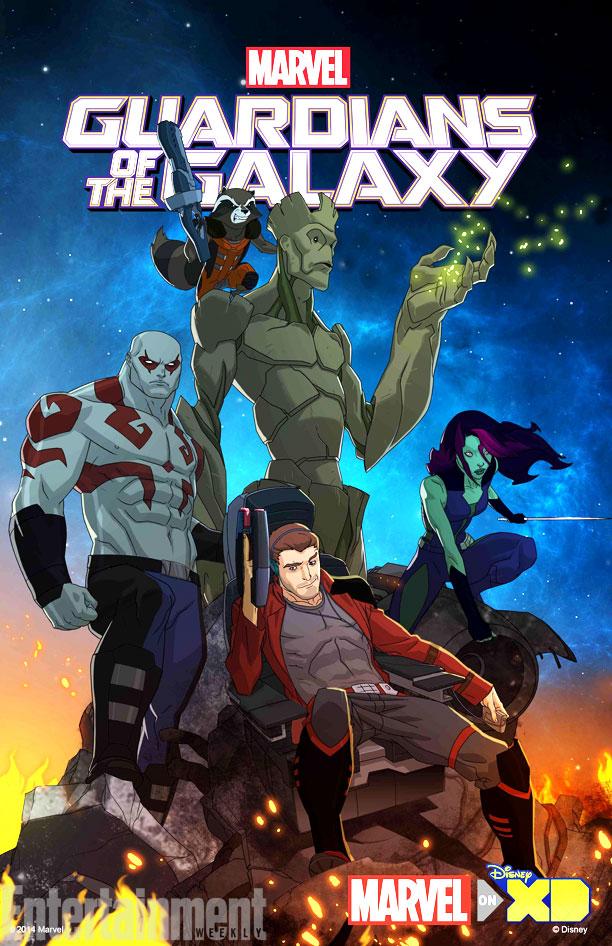 Стражи Галактики: Начало - Marvel's Guardians of the Galaxy- Origins!
