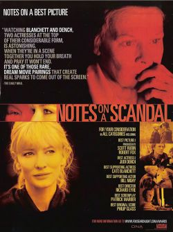 Скандальный дневник - Notes on a Scandal