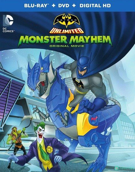 Безграничный Бэтмен: Хаос - Batman Unlimited- Monster Mayhem