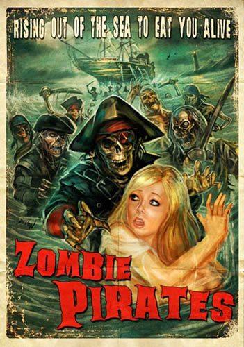 Зомби пираты - Zombie Pirates