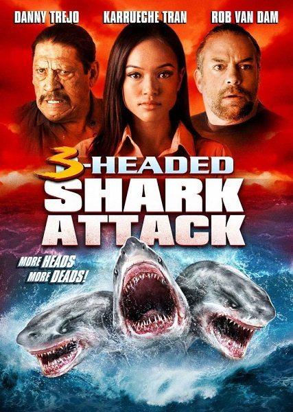 Нападение трёхголовой акулы - 3 Headed Shark Attack