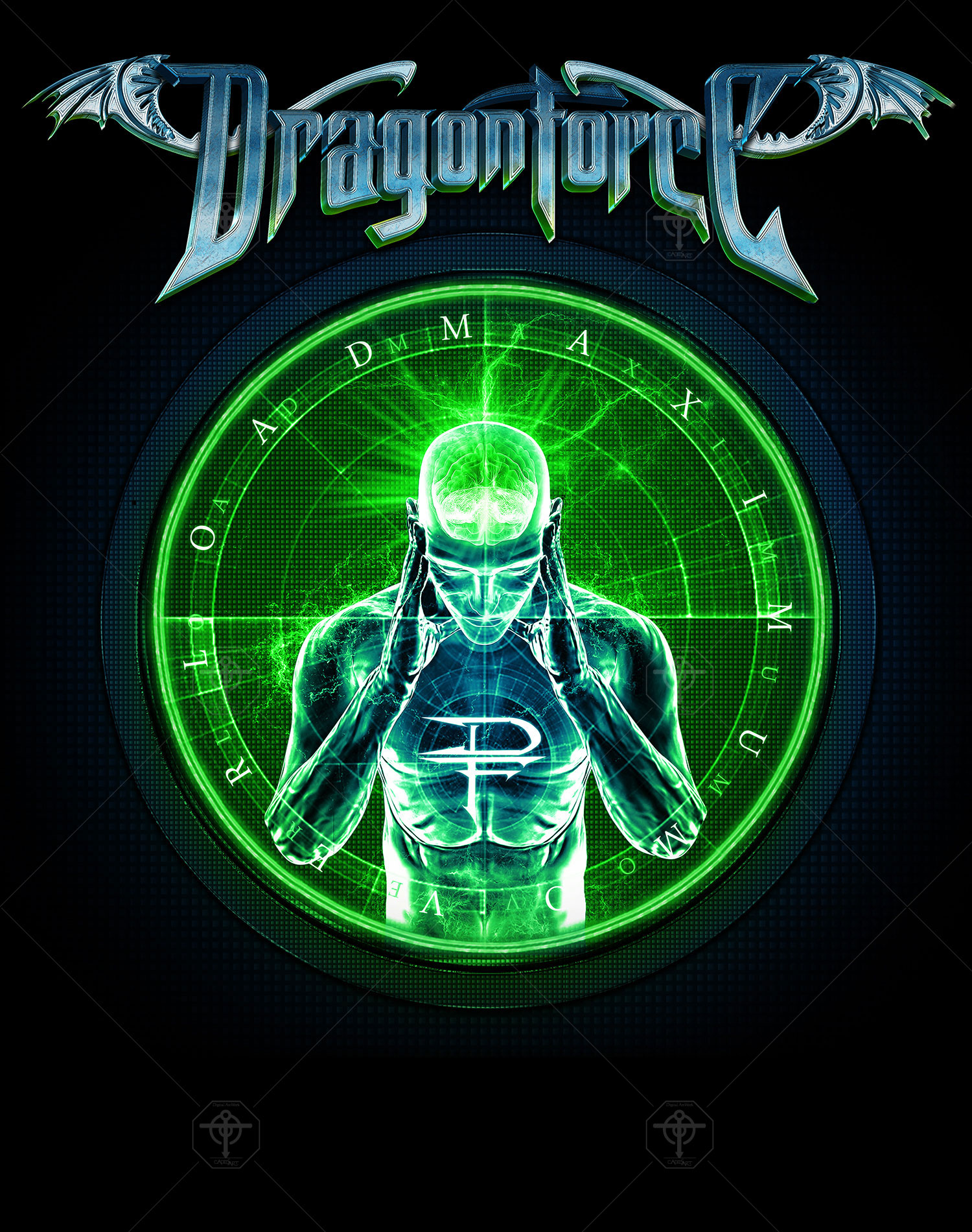 Dragonforce - In The Line Of Fire ... Larger Than Live