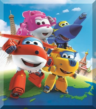 �����������: ���� � ��� ������ - Super Wings. Jett and his friends
