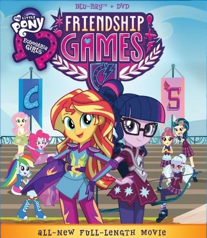 Мой маленький пони: Девочки из Эквестрии - Игры Дружбы - My Little Pony- Equestria Girls - Friendship Games