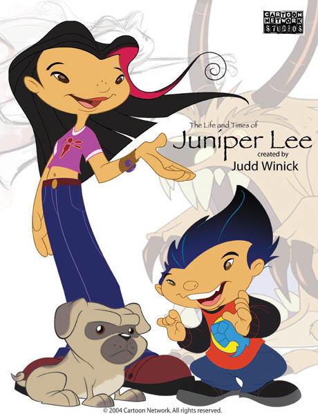 Жизнь и приключения Джунипер Ли - The Life and Times of Juniper Lee