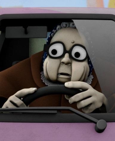 Бабуля на дороге! - Granny Lane