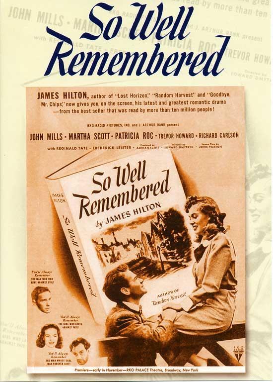В памяти навсегда - So Well Remembered