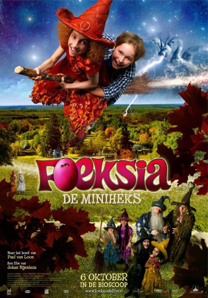 Фуксия — маленькая ведьма - Foeksia de miniheks
