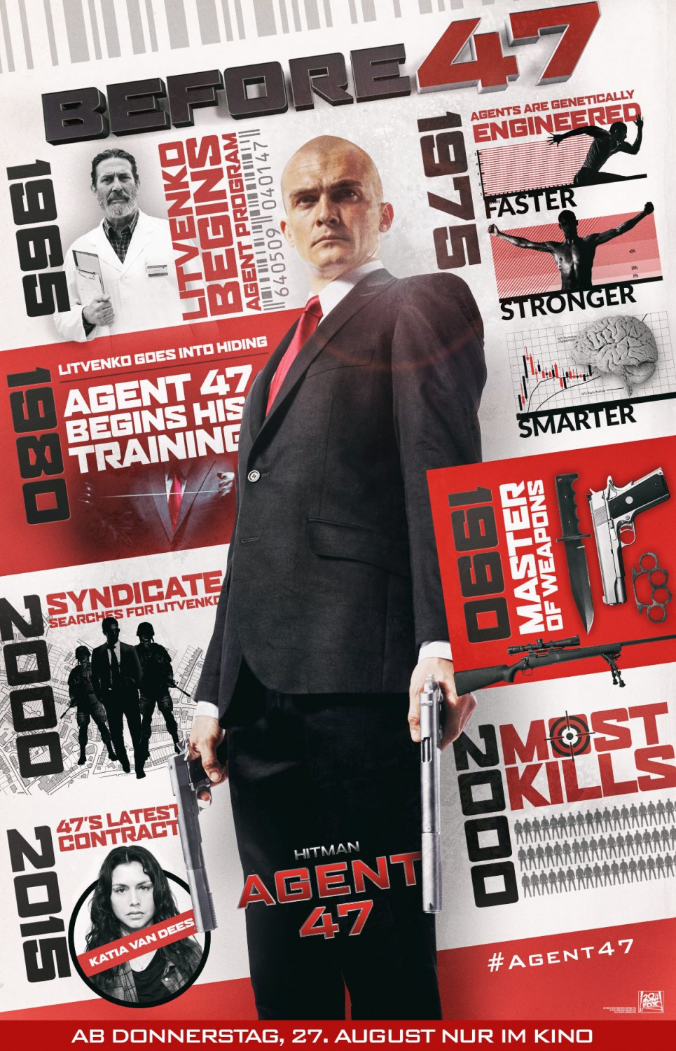 ������: ����� 47: �������������� ��������� - Hitman- Agent 47- Bonuces