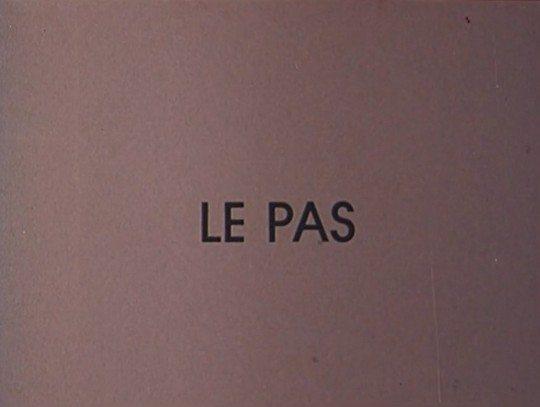 Шаг - Le pas