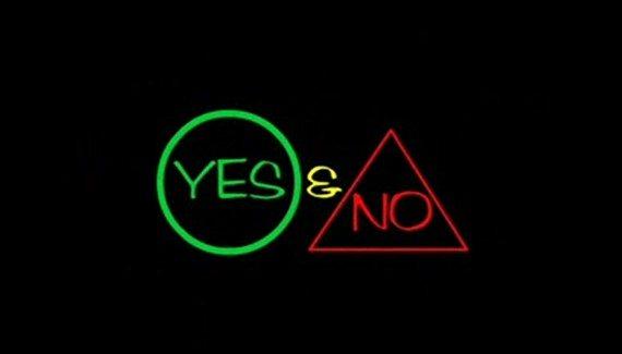 Да и нет - Yes & No