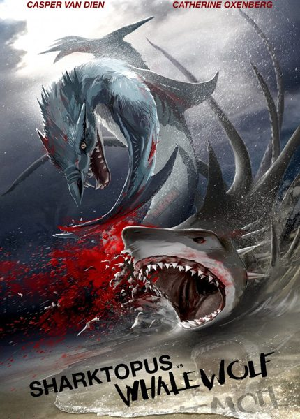 Акулосьминог против Китоволка - Sharktopus vs. Whalewolf