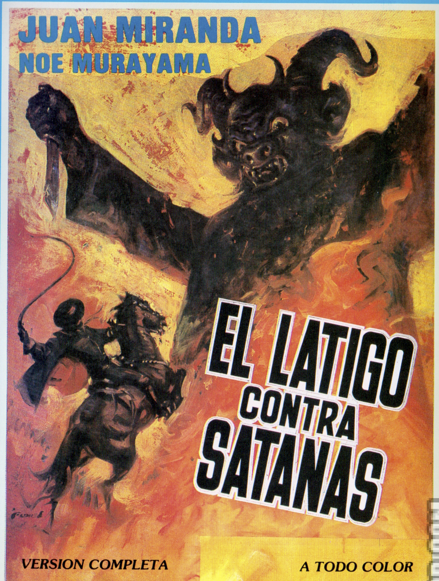 Кнут против Сатаны - El lГЎtigo contra SatanГЎs