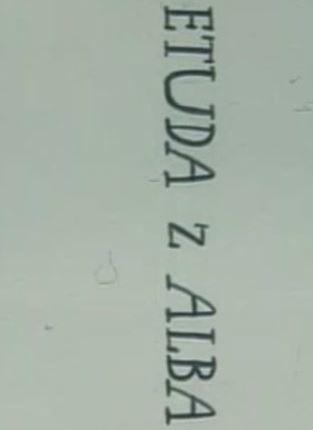 Этюд из альбома - Etuda z Alba