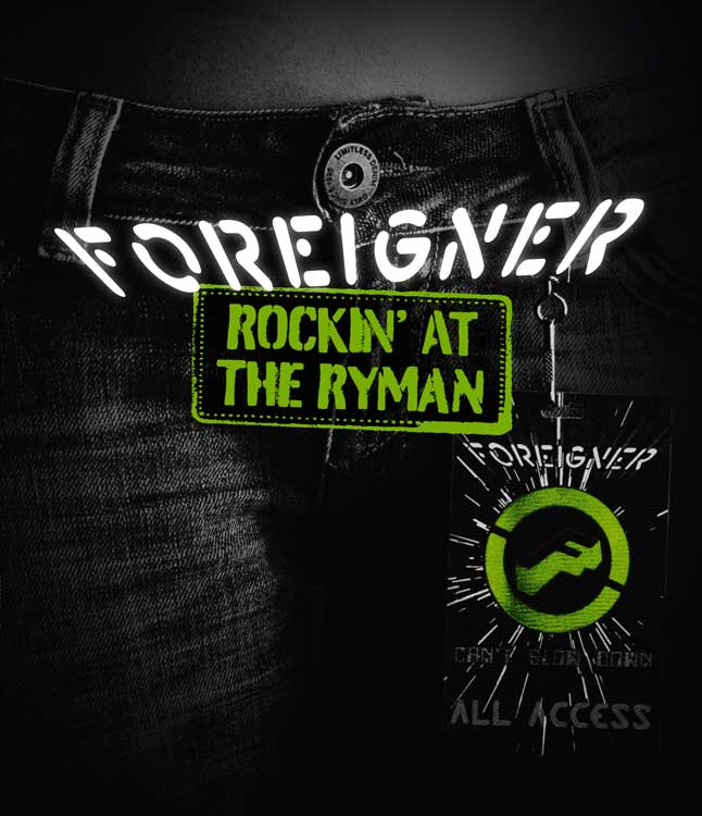 Foreigner - Rockin' At The Ryman 2010