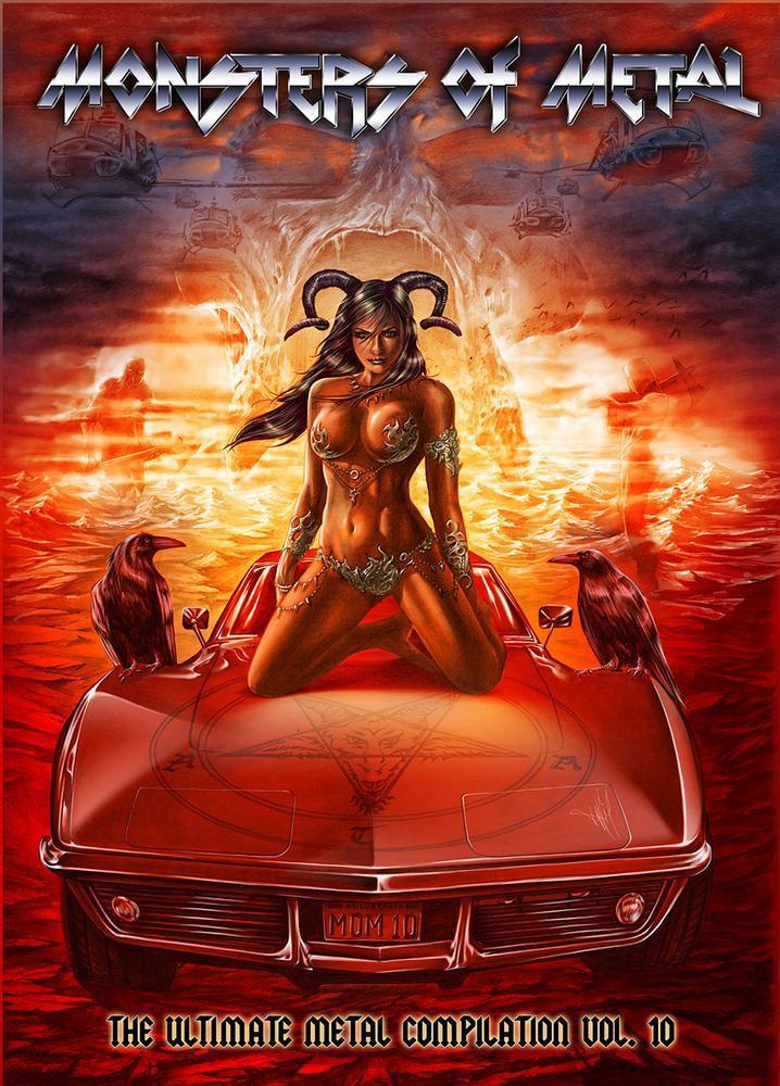 VA - Monsters Of Metal Vol.10