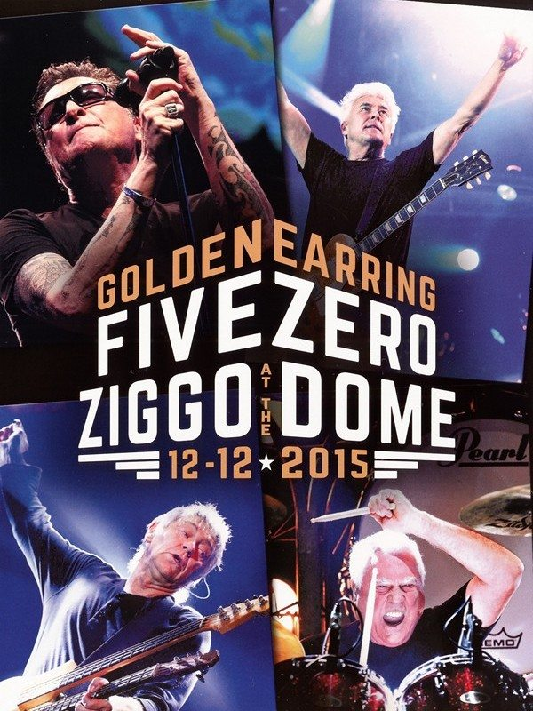 Golden Earring - Five Zero At The Ziggo Dome