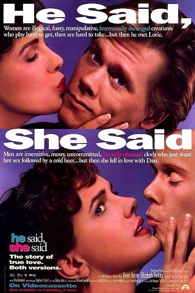 Он сказал, она сказала - He Said, She Said