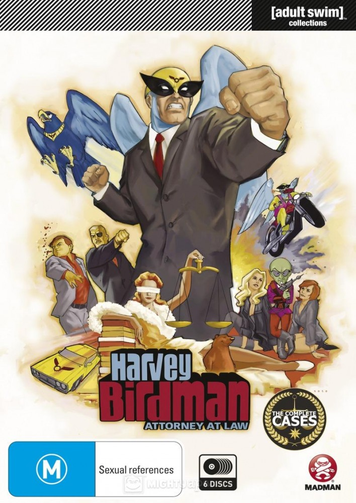 Харви Бердмэн, адвокат - Harvey Birdman, Attorney at Law