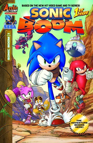 Соник Бум - Sonic Boom