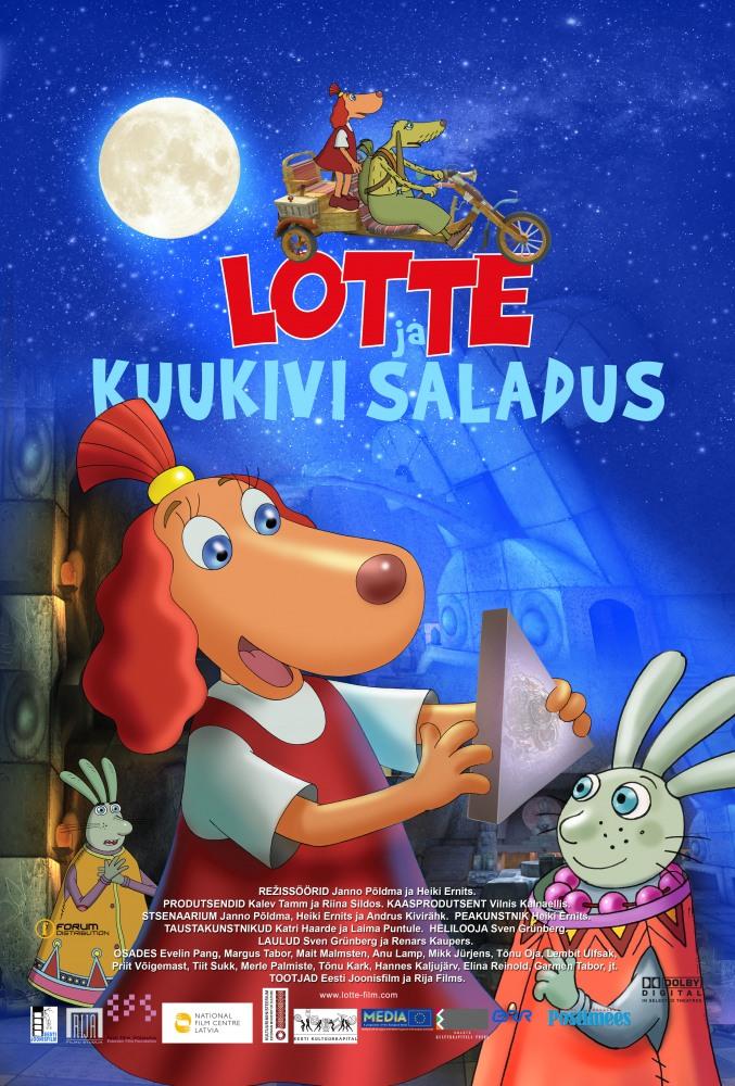 Лотте и тайна лунного камня - Lotte ja kuukivi saladus