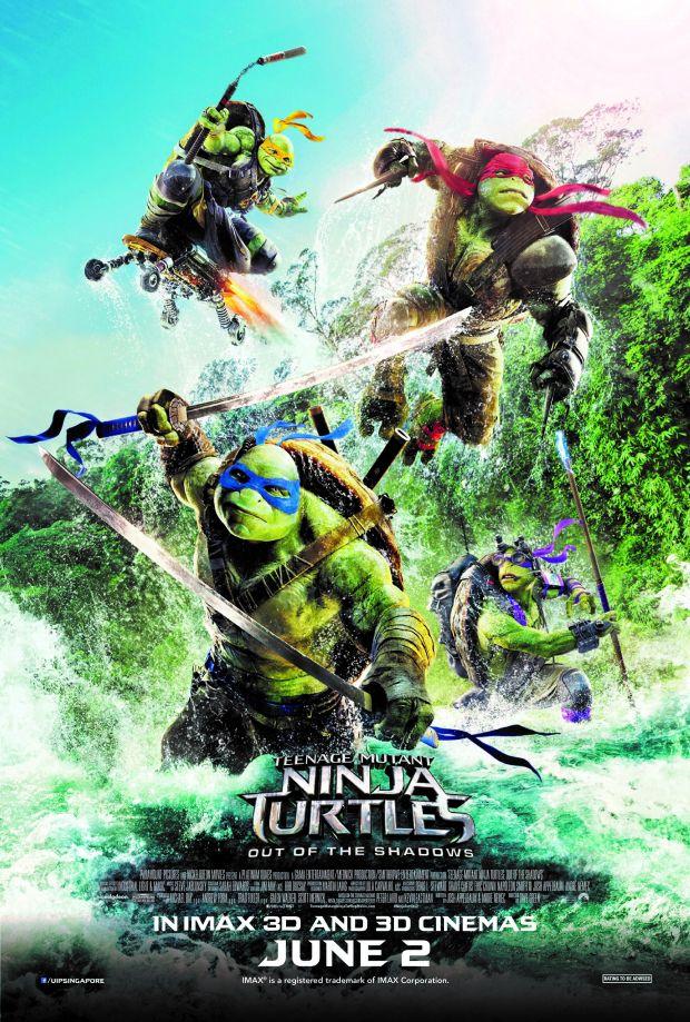 Черепашки-ниндзя 2: Дополнительные материалы - Teenage Mutant Ninja Turtles- Out of the Shadows- Bonuces