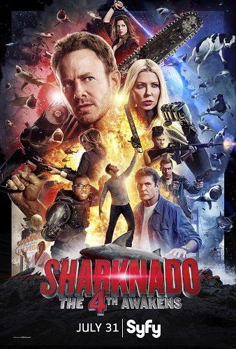 Акулий торнадо 4: Пробуждение - Sharknado 4- The 4th Awakens