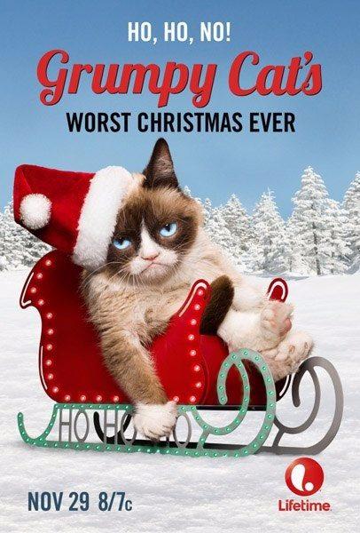 Худшее Рождество Сердитой кошки - Grumpy Cat's Worst Christmas Ever