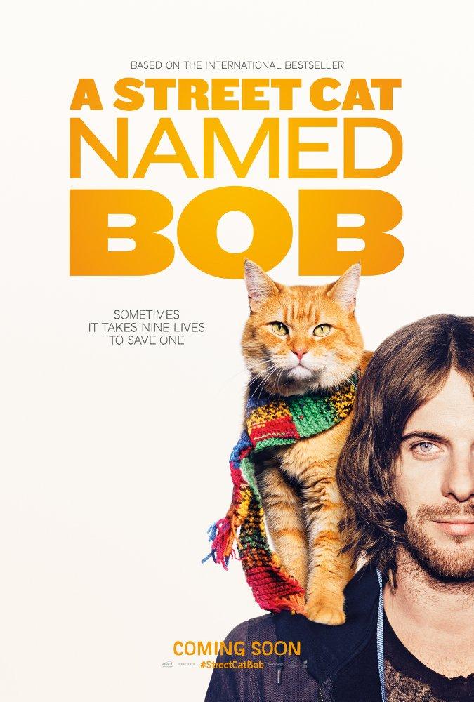 Уличный кот по кличке Боб - A Street Cat Named Bob