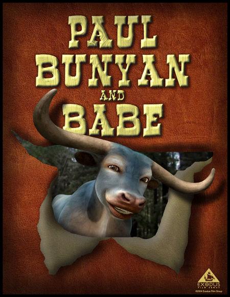 Баньян и малыш - Bunyan and Babe