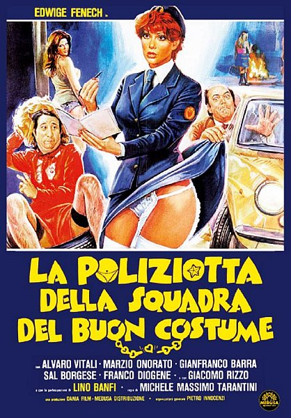 Полицейская в отделе нравов - La poliziotta della squadra del buon costume