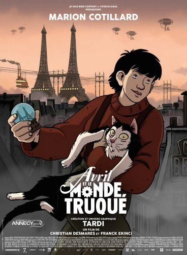 Аврил и поддельный мир - Avril et le monde truquГ©