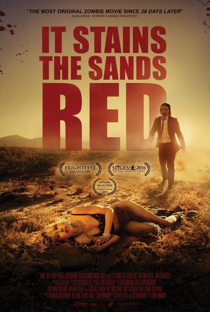От этого песок становится красным - It Stains the Sands Red