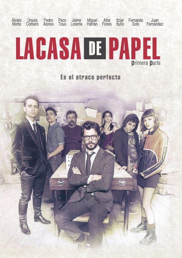 Бумажный дом - La casa de papel