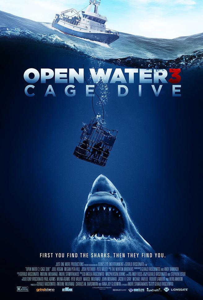 Над глубиной: Хроника выживания - Cage Dive