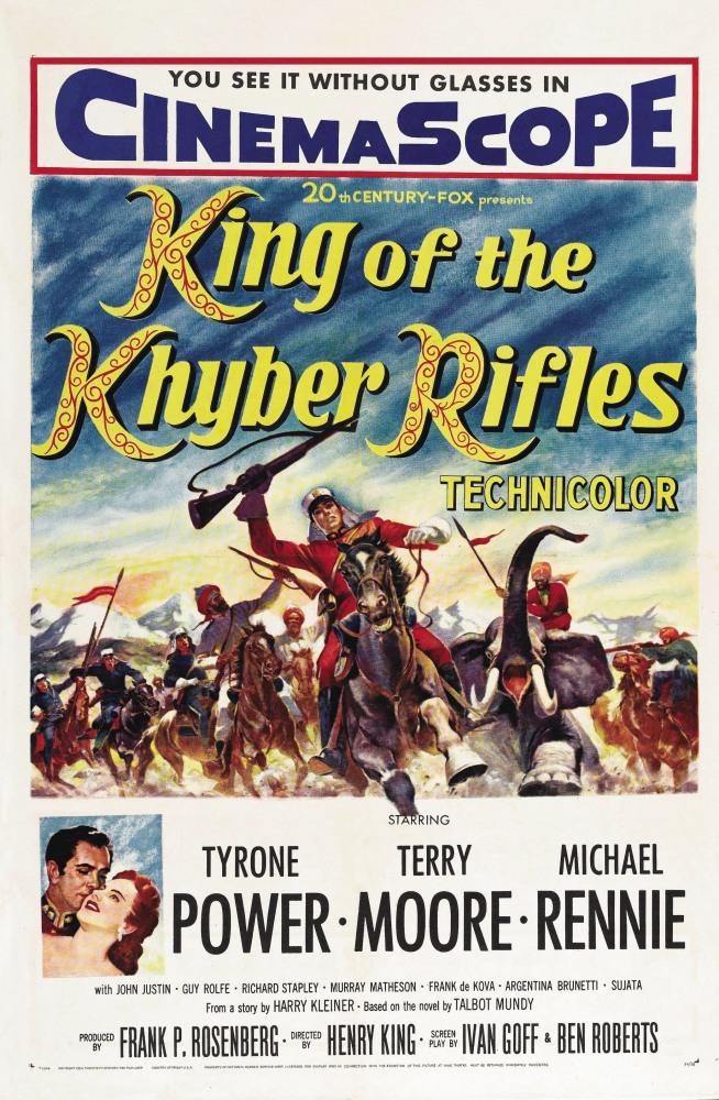 Капитан Хайберских стрелков - King of the Khyber Rifles