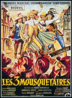 Три мушкетера - Trois mousquetaires, Les