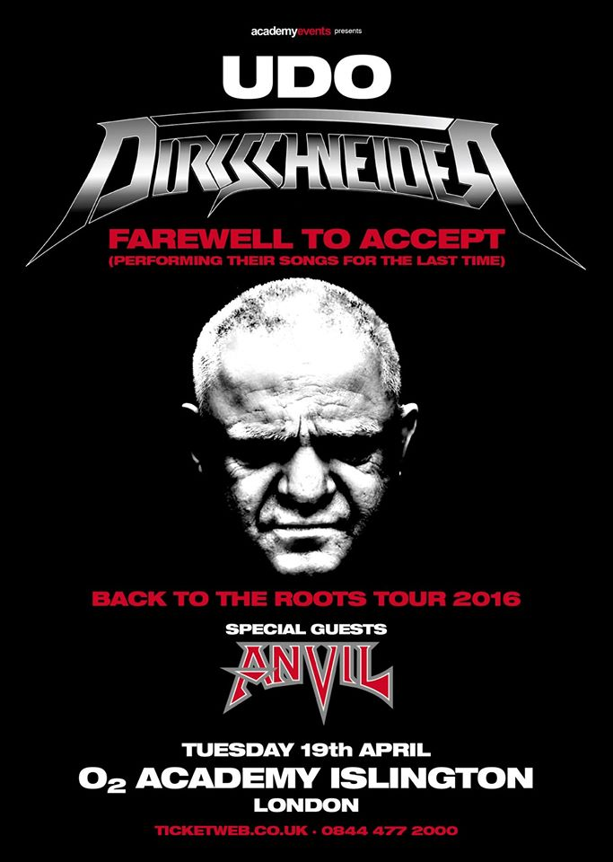 Dirkschneider - Live: Back to the Roots - Accepted!