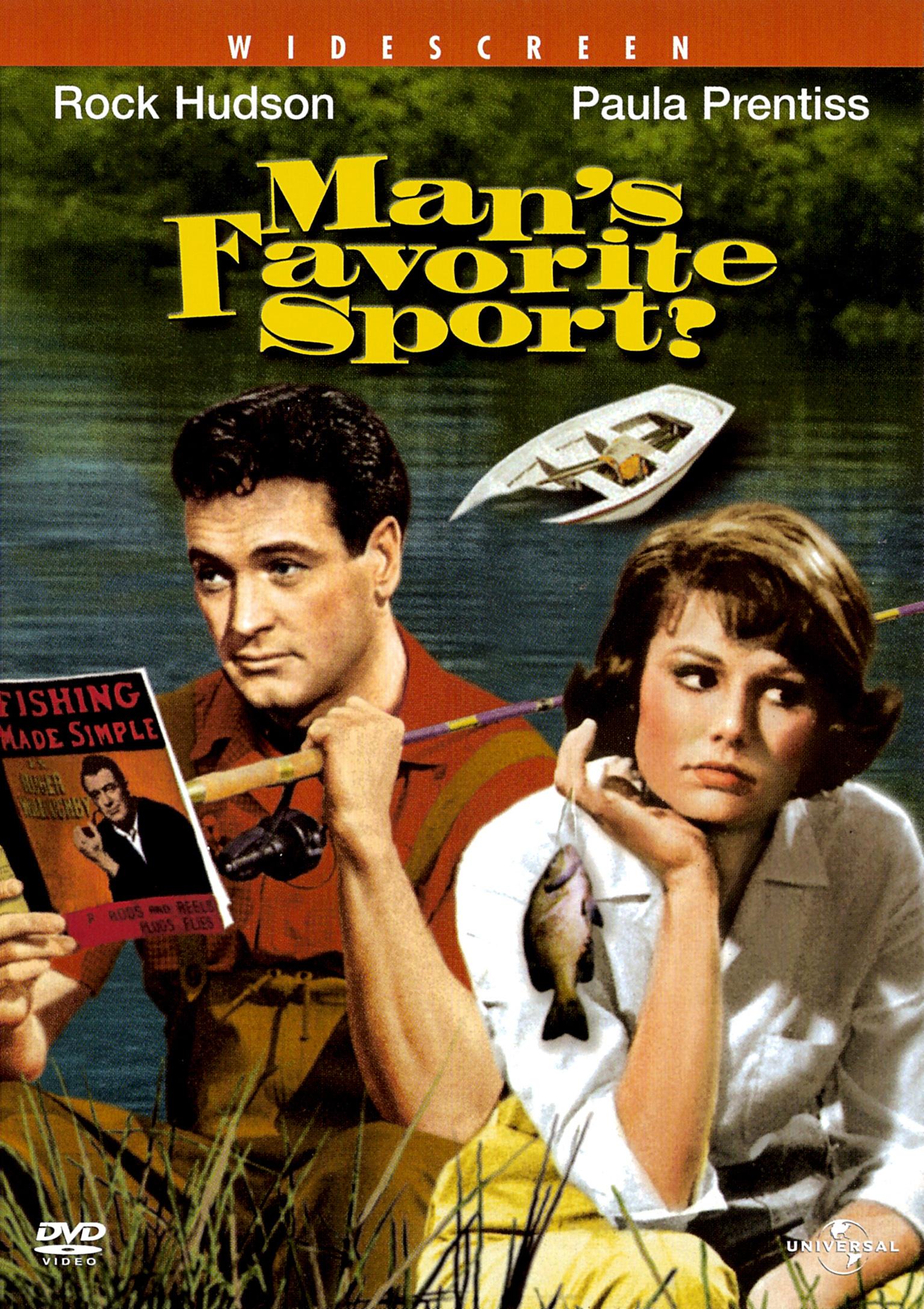 Любимый спорт мужчин - Man's Favorite Sport