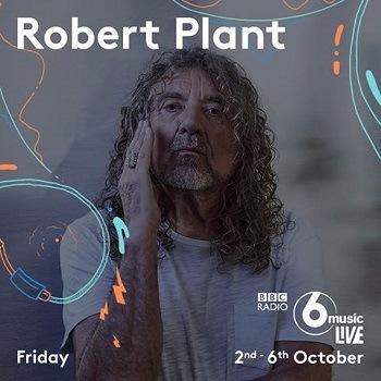 Robert Plant - BBC Radio 6 Music