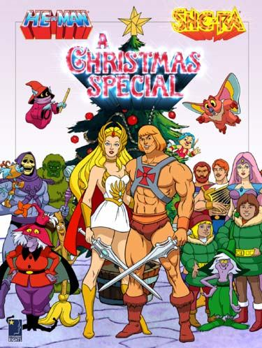 Хи-Мен и Ши-Ра: Рождественский выпуск - He-Man and She-Ra- A Christmas Special
