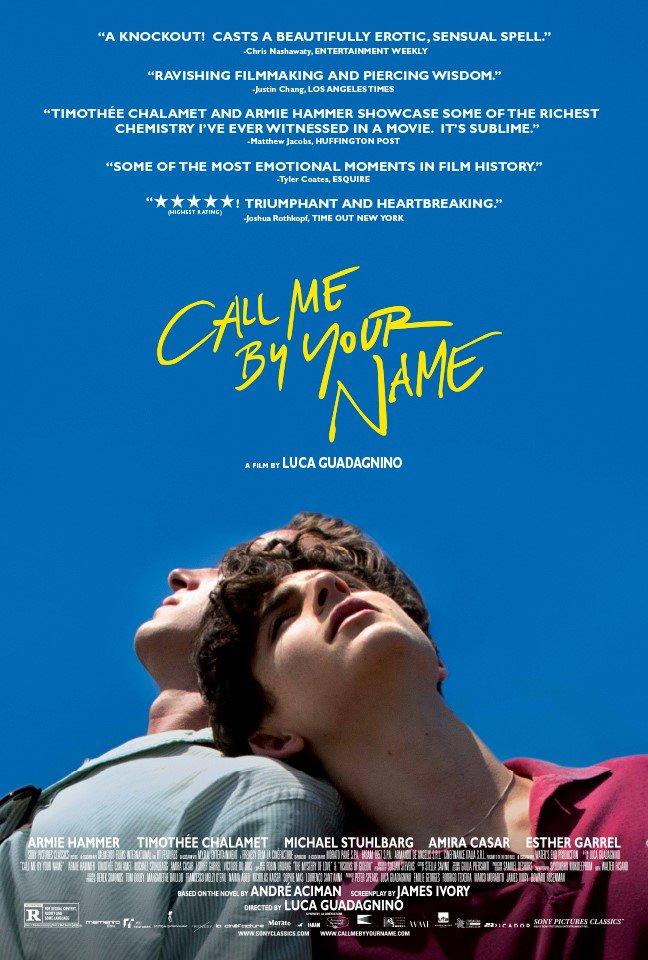 Зови меня своим именем - Call Me by Your Name