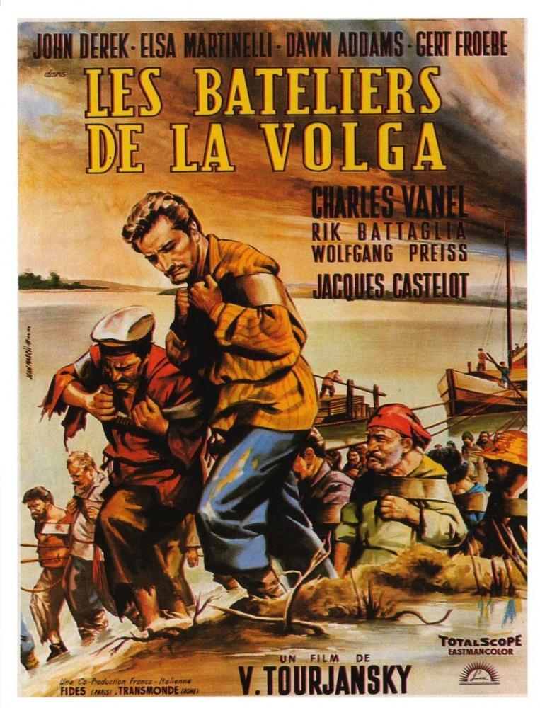 Бурлаки на Волге - I battellieri del Volga