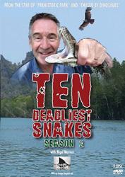 Десять смертельно опасных змей - Ten Deadliest Snakes with Nigel Marven